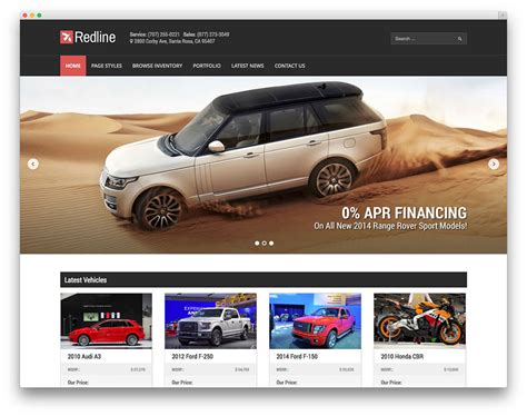Best Car Dealer Wordpress Themes For Automotive Websites 2017 Colorlib Car Dealer Email Templates