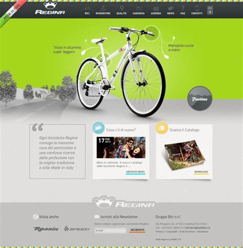 home design inspiration websites biciclette regina webdesign inspiration www niceoneilike com
