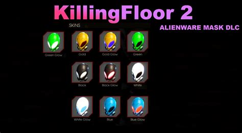 Eu Alienware Giveaway - killing floor 2 exclusive dlc alienware masks youtube