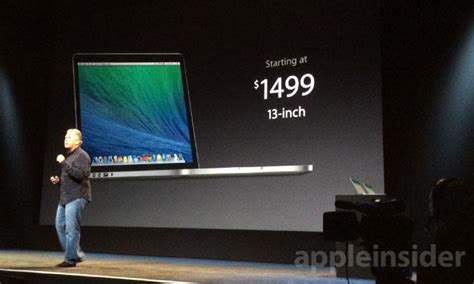 Apple Macbook Pro Retina Display Haswell New apple announces thinner 13 quot retina macbook pro with intel iris graphics 9 hours of battery