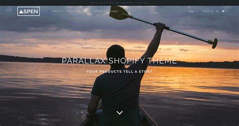 shopify themes out of the sandbox parallax backgrounds and how can they enhance your shopify