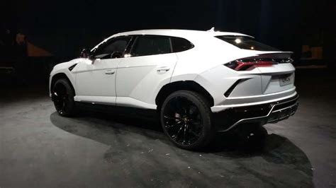 lamborghini urus white lamborghini urus launched in india at rs 3 crore