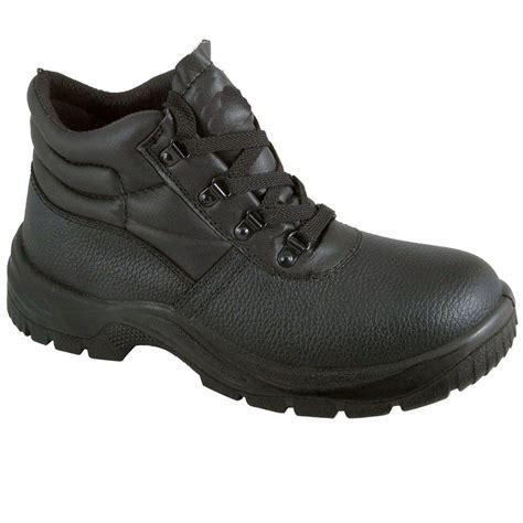 mens steel toe cap work boots chukka safety work boots leather steel toe cap midsole