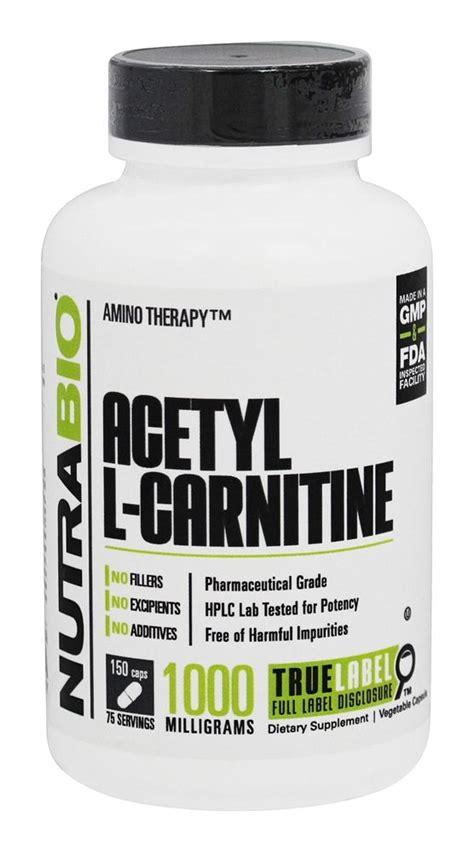 l carnitine vegetables buy nutrabio acetyl l carnitine 500 mg 150 vegetable