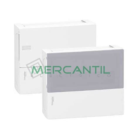 cuadros electricos schneider cuadro de superficie mini pragma 1 fila 12 modulos