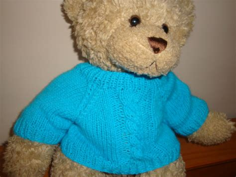 knit sweater pattern for teddy bear knitted teddy bear sweater pattern cashmere sweater england