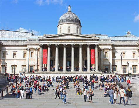 national gallery top 5 art galleries in london