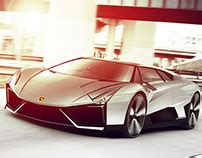 Lamborghini Centro Stile Vw Project Thesis Made In Spd In Collaboration With Vw On