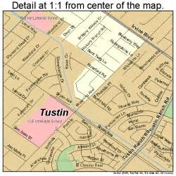 where is tustin california on a map tustin california map 0680854