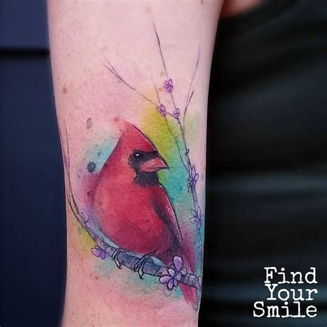 watercolor cardinal tattoo best 25 cardinal bird tattoos ideas on