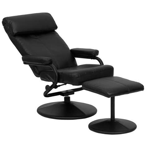recliner and ottoman set black modern recliners palmer recliner ottoman eurway