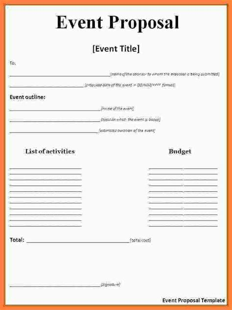 meeting rfp template 10 event template doc bussines 2017