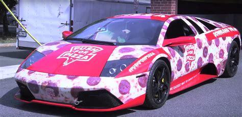 Lamborghini Pizza Delivery Lamborghini Murcielago Becomes Pizza Machine V12 For