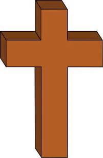 Cross Outline by Clipart Christian Cross Outlined