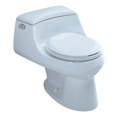 lowes bathroom toilets shop kohler san raphael skylight 1 6 gpf 6 06 lpf 12 in