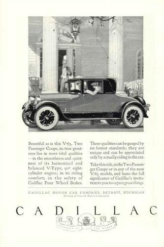 cadillac television ads personalities old car and truck advertisement brochures cadillac