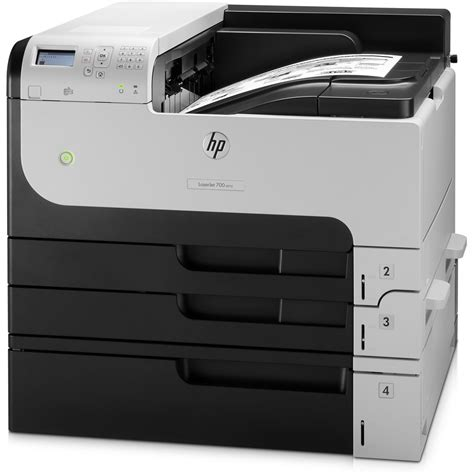 Printer Laser Ukuran A3 Hp Laserjet Enterprise 700 M712xh A3 Mono Laser Printer