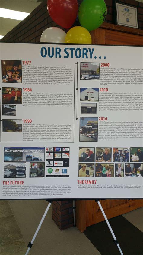 our story history of plano overhead garage door plano