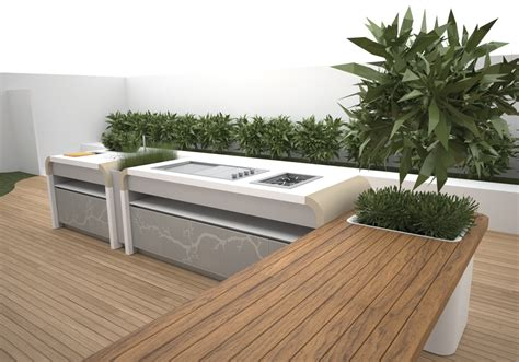 garden kitchen design electrolux modern outdoor kitchen digsdigs