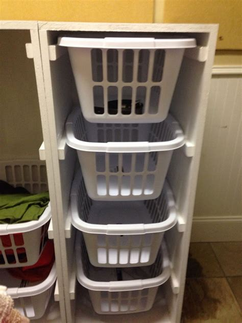 White Laundry Basket Dresser by White Laundry Basket Dresser Things I Made