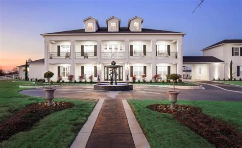 20 000 square foot plantation style mansion in pilot point