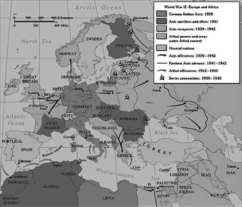world war 2 africa map map of europe wwii