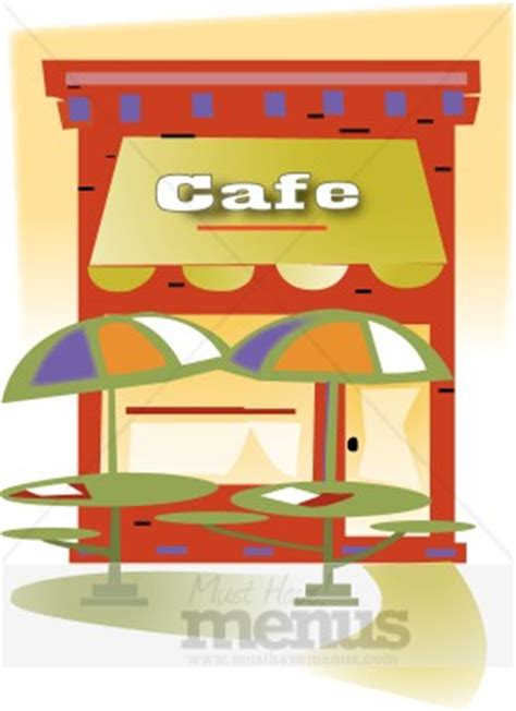 outdoor cafe clipart cafe clipart