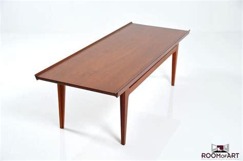 In Table Coffee Table In Teak By Finn Juhl Room Of