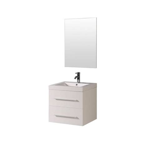 shop   belvedere modern white wall mounted bathroom