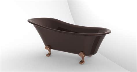 bathtub models clawfoot bathtub claw foot bath tub step iges solidworks 3d cad model grabcad