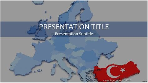 Free Turkey Map Powerpoint 35123 Sagefox Free Powerpoint Templates Turkey Powerpoint Template