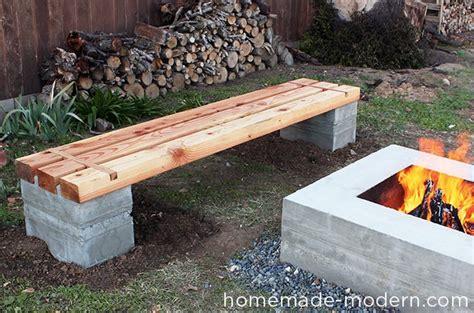 build your own garden bench