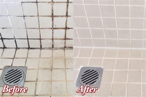 Grout Cleaning Before And After Before And After Grout Cleaning Grout Cleaning Boise
