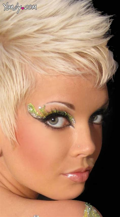 Eyeliner Silver Pixy 17 best images about make up ideas on eye make up costume makeup and glitter makeup