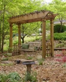 Garden Arch Swing Swing Arbor In The Arbor Garden Arbor Garden Deb S