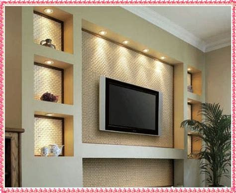 tv wall ideas gypsum tv unit design drywall tv wall unit design 2016