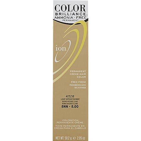 8nn hair color ion color brilliance ammonia free permanent cr 232 me hair color