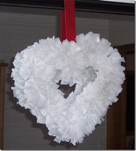 grocery bag wreath fun family crafts
