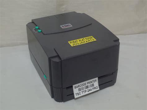 Printer Barcode Tsc Ttp 244pro Barcode Printer jual barcode printer tsc ttp 244 pro pusat alat kasir jogja