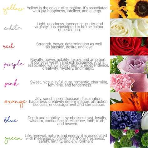 flower color meaning mothers day flower color meaning best images collections
