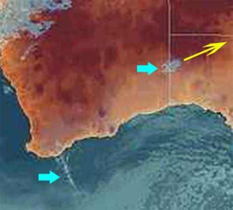 australian bureau meteorology strange weather pattern southwestern australia