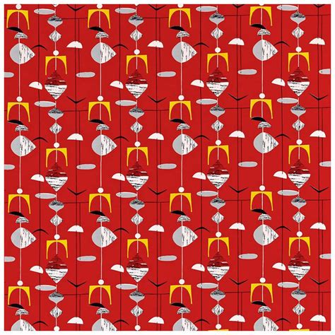50s design sanderson 50s mobiles fabric collection dfif220035 dfif220035