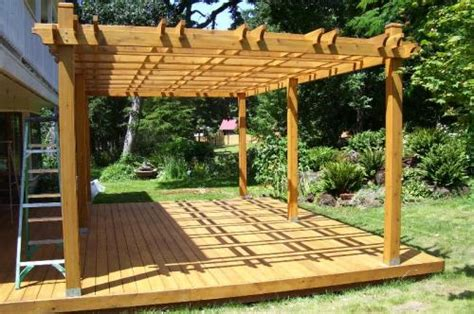 wooden plans pergola plans home hardware pdf