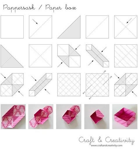 Diy Origami Box - diy origami paper box crafts that i ll never actually do