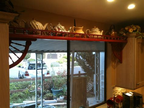 Shelf Above Window by Kitchen Is Done Pamdesigns