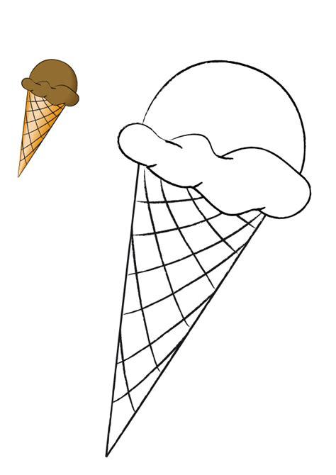 imágenes para dibujar helados ba 218 l de colorear dibujos para colorear quot helados quot