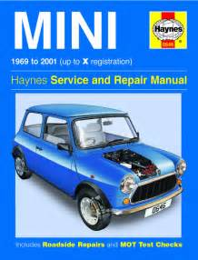 Mini Cooper Haynes Manual Haynes 0646 Workshop Service Repair Manual Guide Mini 1969