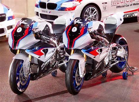 motogp bmw s1000rr bmw s hp4 is official safety bike for motogp bmw