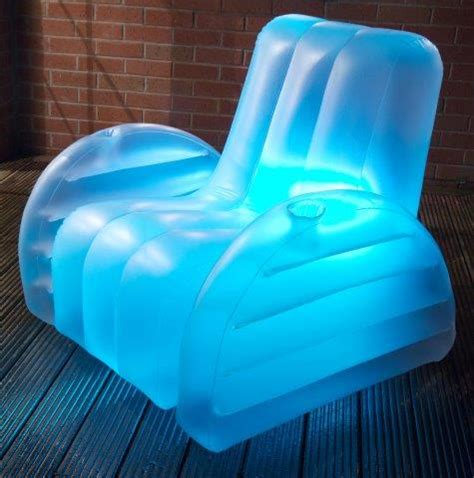 blow up armchair inflatable blow up led arm chairs from starlite uk