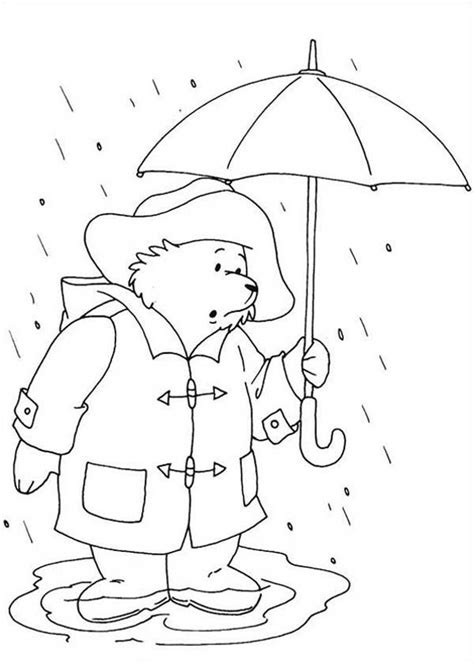 paddington bear coloring pages coloring home